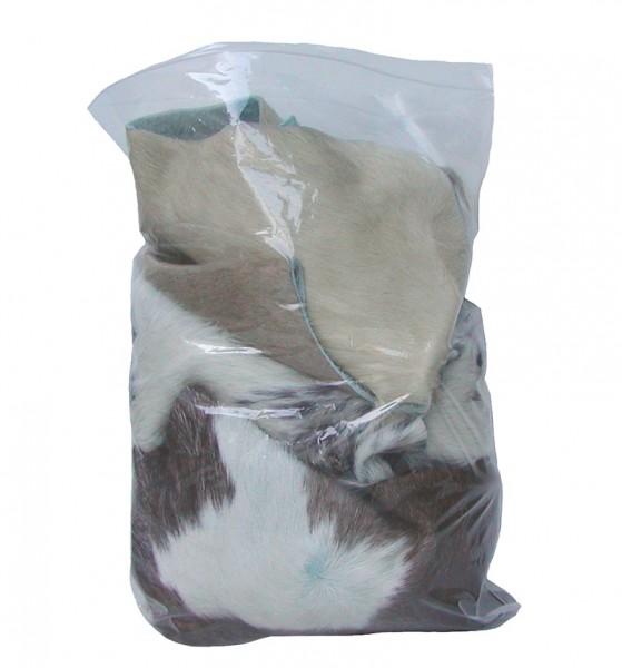 1 kg Kuhfell Fellreste zum basteln, verschiedene Farben, Größen und Muster