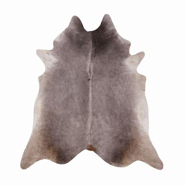 große südamerikanische Rinderfelle, Kuhfelle, grau natur, seidig glänzendes Fell, ca. 3-4 m²