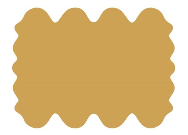 exklusive Lammfell Fellteppiche ocker gefärbt, 8 Einzelfelle, waschbar, Haarlänge ca. 70 mm, ca. 185x235 cm