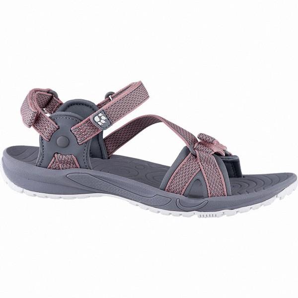 Jack Wolfskin Lakewood Ride Sandal Women Damen Synthetik Sandalen rose quartz, Wolf Aero-Laufsohle