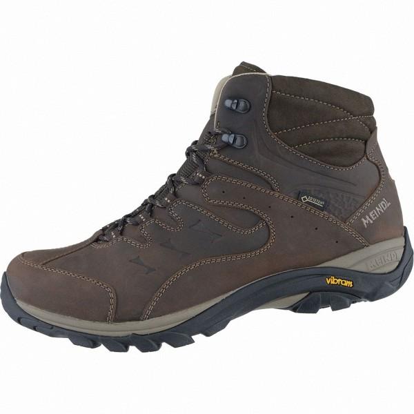 Meindl Caracas Mid GTX Herren Leder Outdoor Schuhe braun, Air-Active-Fußbett