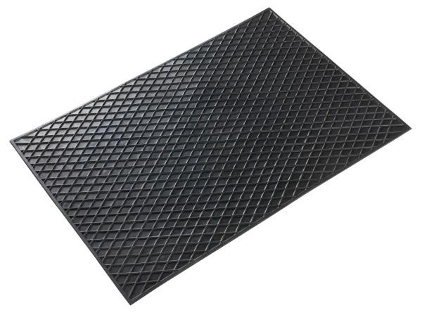 Universal TPR Auto Gummimatten schwarz 70x49 cm, Anti Slip, rutschhemmende Spikes, Auto Fußmatten, Schutzmatten