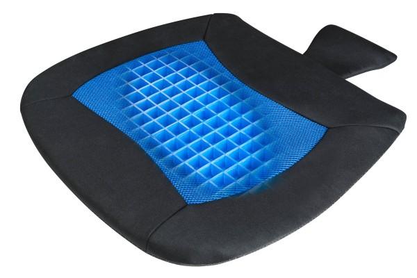 komfortables, weiches Anti Rutsch Sitzkissen Cool Touch blau, Temperatur regulierend, für Auto, Büro, Freizeit