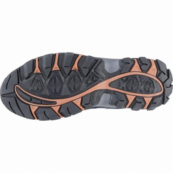 Lico Falcon Damen, Herren Leder Trekking Schuhe marine, Textil Einlegesohle