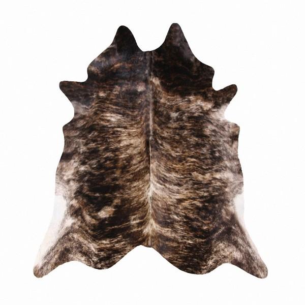 große südamerikanische Rinderfelle, Kuhfelle, rotbraun gefleckt natur, seidig glänzendes Fell, ca. 3-4 m²