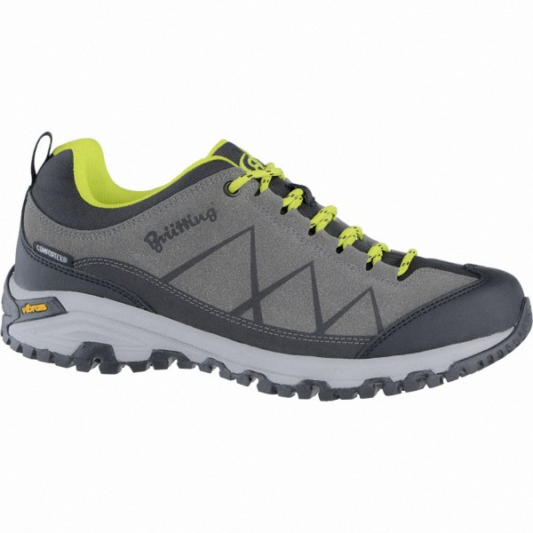 Brütting Kansas Herren Synthetik Outdoor Schuhe anthrazit, Comfortex Klimamembrane
